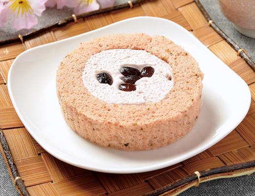 【ローソン】「プレミアム桜と大納言のロールケーキ」登場!味や値段、カロリーは?