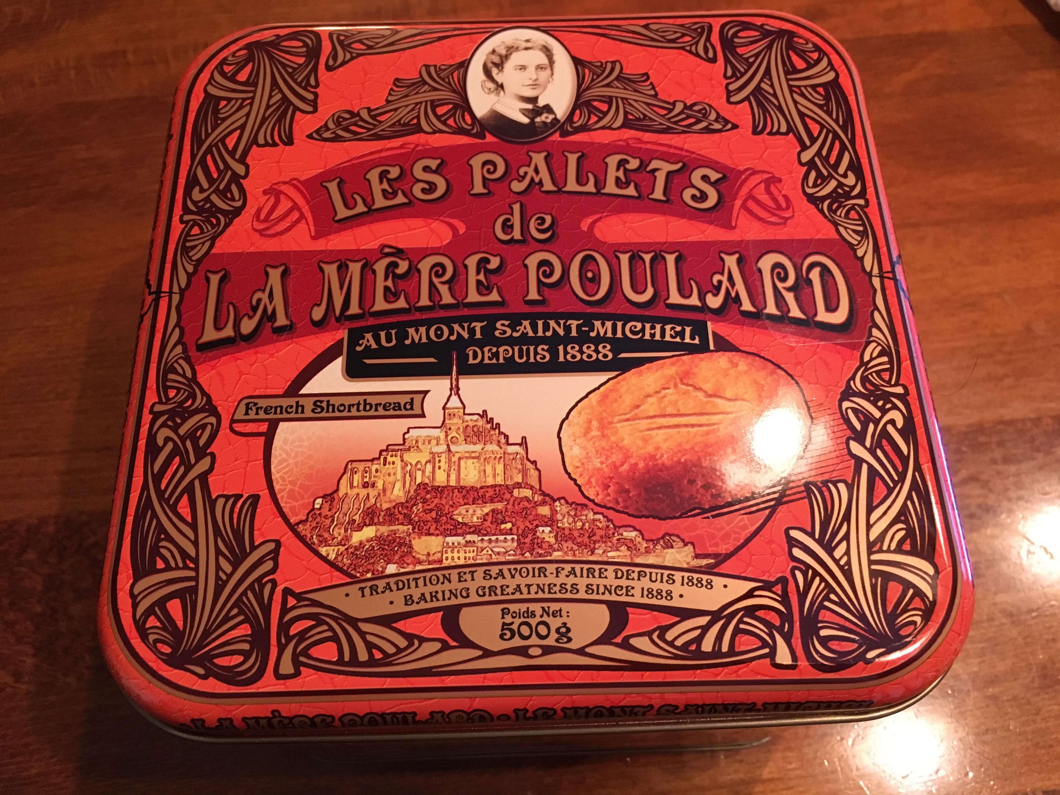 フランスで人気のスイーツ「ラ・メール・プラール」のバタークッキーが最高だった。