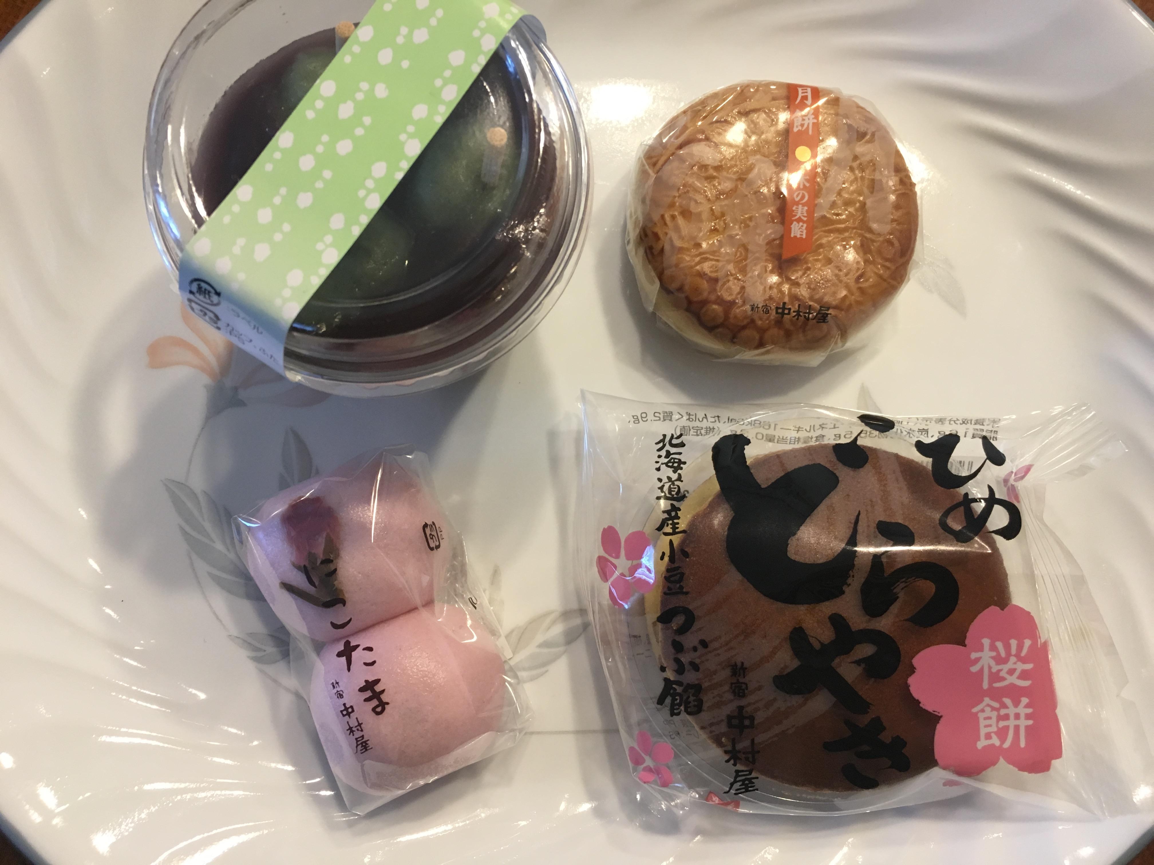 新宿中村屋の春のスイーツを食べてみた感想とおすすめのスイーツ6選