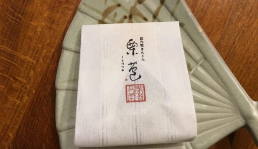 【岐阜】松月堂の栗包みを食べた感想と人気栗菓子21種類をご紹介